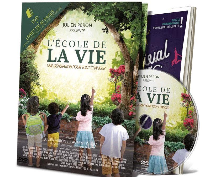 Sortie DVD du film «L'école de la vie, une génération pour tout changer» + livret de 40 pages contenant des articles et références autour de l'éducation
