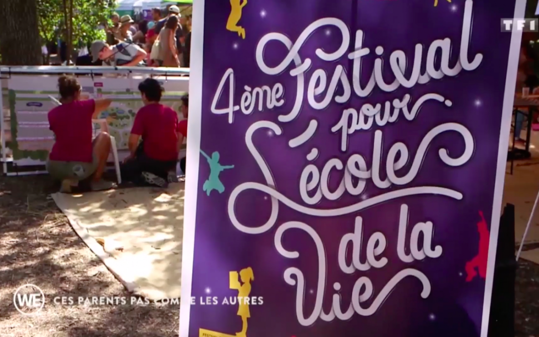 TF1 parle du festival pour l'école de la vie