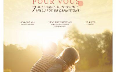 1 millions de spectateurs pour le film c'est quoi le bonheur pour vous?
