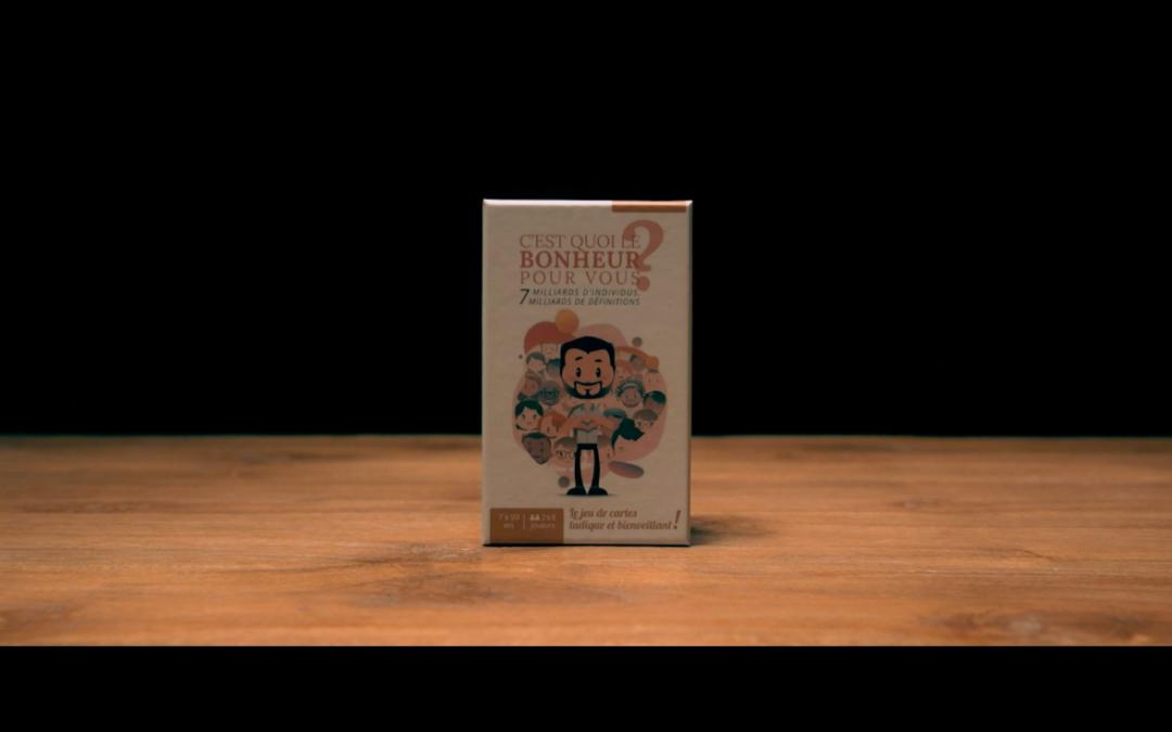 C'est quoi le bonheur pour vous le jeu de cartes en vidéo